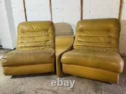 1970s Lounge Chairs And Matching Table Mid Century Retro Vintage