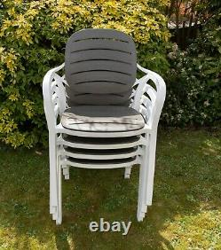 5Pcs Garden Patio Outdoor Furniture Set 4 Chairs and Table Coffee Bistro Set NEW