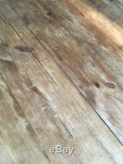 6ft Solid Wood Rustic Country Farmhouse Dining Table and 6 Chairs