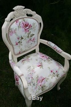 Absolutely Gorgeous Shabby Chic Table and 6 Chairs customization available