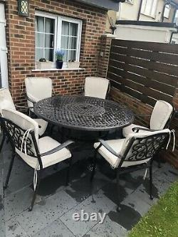 Cast Iron Table And Chair Garden