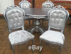 Dining Table And 6 Chairs Italian Rococo Louis French Made To Order