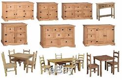 Discount Corona Dining Table Sideboard Chest Display Console Mercers Furniture