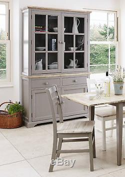 FLORENCE, Stunning rectangle extended kitchen dining table and chairs HI-QUALITY