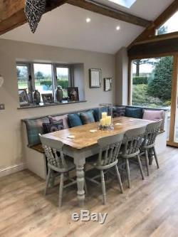 Farmhouse Table and Chairs Made to Order Order Confirmation Only