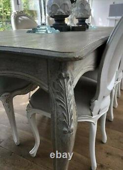 French style Dining table and Chairs 6 Chairs