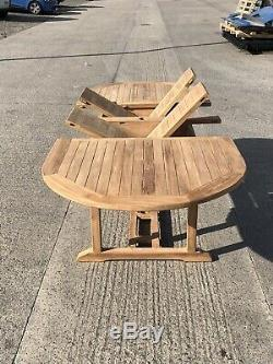 GARDEN TABLE AND CHAIRS TEAK FURNITURE all Stock Must Go