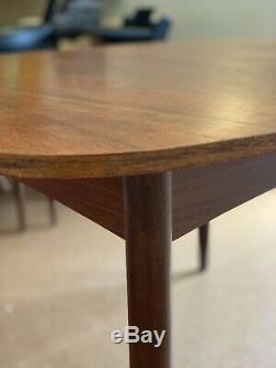G Plan Teak extending dining table and 4 chairs