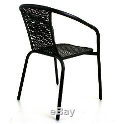 Garden Furniture Sets Outdoor Patio Seats Glass Tables & Wicker Chairs Parasol