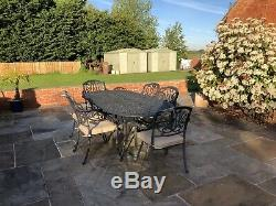 Garden table and chairs -Mortimer 6 Seat Set