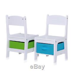 Kindersitzgruppe Kindertisch Kinderstühle Sitzgruppe Kindermöbel Stuhl Baby Vivo