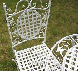 Maribelle Folding Garden Patio Furniture Set Round Table And Two Square Chairs