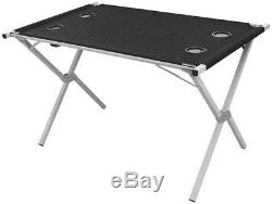 Outwell Rupert Table And 4 Goya Chairs Camping Foldable Portable Set