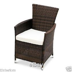 Rattan Garden Furniture Dining Table And 8 Chairs Dining Set Outdoor Patio
