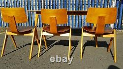 Robin day hillestak Dining Set Chairs And Table Retro Vintage Mid Century