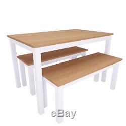 Table and Chairs Benches Set Dining Room Garden Kitchen Home Festival Furnitures