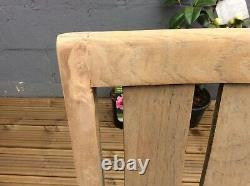 Teak Garden Table And Four Chairs