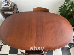 Vintage G-Plan Teak Extending Dining Table and Chairs