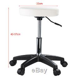 White Salon Couch Beauty Bed Chair Massage Table and Stool Tattoo Spa Therapy